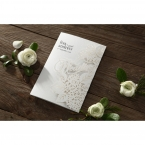 Laser Cut Floral Wedding wedding invitations HB15086_1