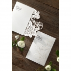 Laser Cut Floral Wedding wedding invitations HB15086_11