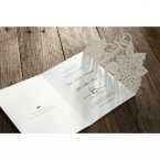 Laser Cut Floral Wedding wedding invitations HB15086_13
