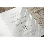 Laser Cut Floral Wedding wedding invitations HB15086_14