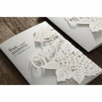 Laser Cut Floral Wedding wedding invitations HB15086_17