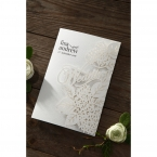 Laser Cut Floral Wedding wedding invitations HB15086_2