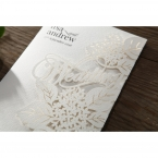 Laser Cut Floral Wedding wedding invitations HB15086_3