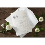 Laser Cut Floral Wedding wedding invitations HB15086_5