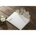 Laser Cut Floral Wedding wedding invitations HB15086_7