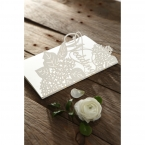 Laser Cut Floral Wedding wedding invitations HB15086_8