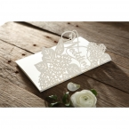 Laser Cut Floral Wedding wedding invitations HB15086_9