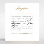 Love Letter reception card DC116105-YW