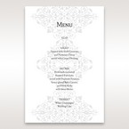 Black A Night at the Opera - Menu Cards - Wedding Stationery - 20