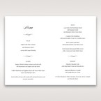 Purple Laser Cut Frame Pocket - Menu Cards - Wedding Stationery - 33
