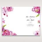 Purple Laser Cut Frame Pocket - Menu Cards - Wedding Stationery - 34