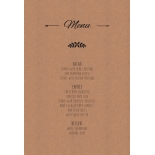 Country Lace Pocket - Menu Cards - DM115086 - 184270