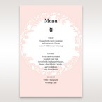 Pink Enchanted Forest I Laser Cut P - Menu Cards - Wedding Stationery - 52