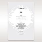 White Enchanted Forest I Laser Cut P - Menu Cards - Wedding Stationery - 53