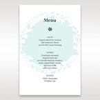 White Enchanted Forest II Laser Cut P - Menu Cards - Wedding Stationery - 56