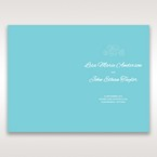 Green Ocean Frame I Laser Cut - Menu Cards - Wedding Stationery - 17