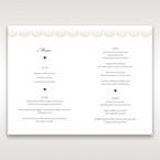 White Amabilis - Menu Cards - Wedding Stationery - 24