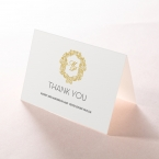 Modern Crest thank you card DY116122-DG