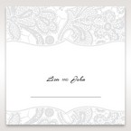White White Dress - Place Cards - Wedding Stationery - 88