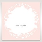 Pink Enchanted Forest I Laser Cut P - Place Cards - Wedding Stationery - 27