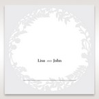 White Enchanted Forest I Laser Cut P - Place Cards - Wedding Stationery - 28
