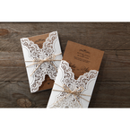 Brown Country Glamour - Wedding invitation - 21
