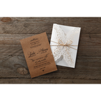 Brown Country Glamour - Wedding invitation - 23
