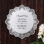White Traditional Romance - Wedding invitation - 25