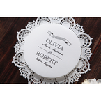 White Traditional Romance - Wedding invitation - 26