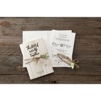 Brown Rustic Woodlands - Wedding invitation - 42