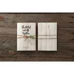 Brown Rustic Woodlands - Wedding invitation - 43