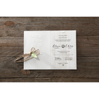 Brown Rustic Woodlands - Wedding invitation - 49