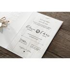 Brown Rustic Woodlands - Wedding invitation - 50