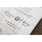 Brown Rustic Woodlands - Wedding invitation - 51