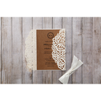 Brown Countryside Chic - Wedding invitation - 17