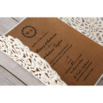 Brown Countryside Chic - Wedding invitation - 20