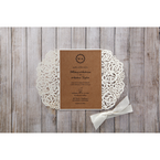 Brown Countryside Chic - Wedding invitation - 21