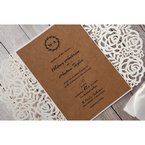 Brown Countryside Chic - Wedding invitation - 22