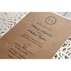 Brown Countryside Chic - Wedding invitation - 23