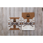 Brown Blissfully Rustic Laser Cut Wrap - Wedding invitation - 29