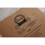 Brown Blissfully Rustic Laser Cut Wrap - Wedding invitation - 32