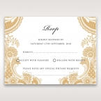 Prosperous Golden Pocket rsvp card DV11045