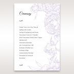 Romantic Rose Pocket order of service DG11049
