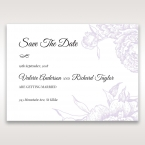 Romantic Rose Pocket save the date DS11049