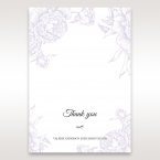 Romantic Rose Pocket thank you card DY11049
