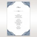 Royal Frame menu card DM15088