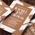 Rustic Brush Stroke wedding invitations FWI116129-TR_7