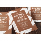 Rustic Brush Stroke wedding invitations FWI116129-TR_9
