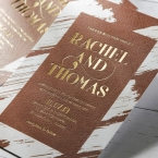 Rustic Brush Stroke with Foil wedding invitations FWI116091-TR-GG_2
