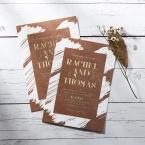 Rustic Brush Stroke with Foil wedding invitations FWI116091-TR-GG_5